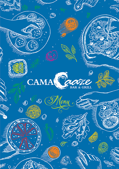 CamaCaaze-Food-Menu