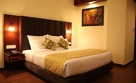 3 Star Hotel Deluxe Room in Mohali and Affordable Prices.