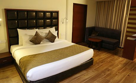 Hotel Cama, Grand Deluxe Room in Mohali Best Price, Online Book Rooms.